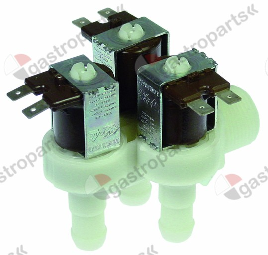 372.024, No longer available / solenoid valve triple angled 230V inlet 3/4