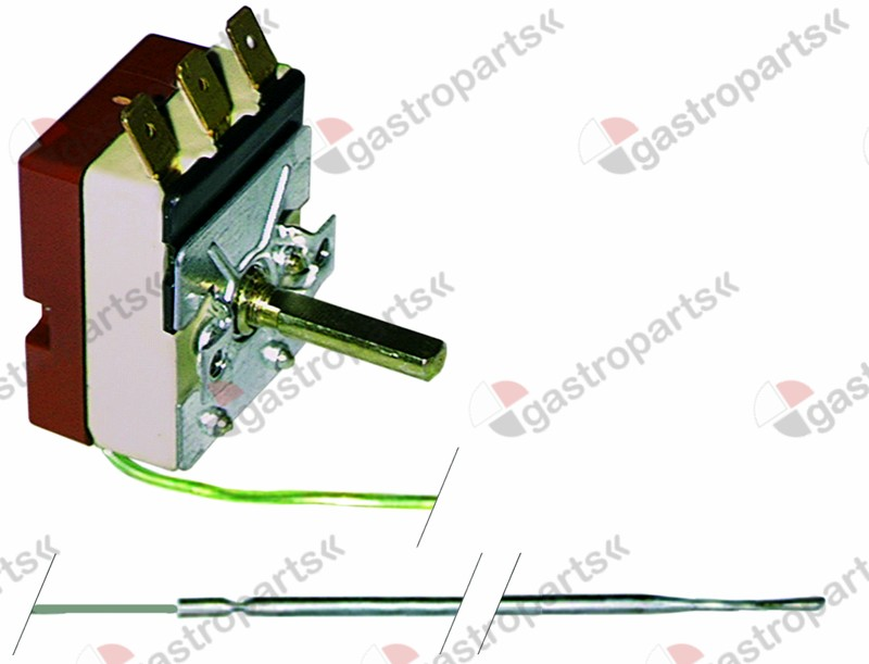 375.011, Replaced by 375505 / thermostat t.max. 320°C temperature range 50-320°C1-pole