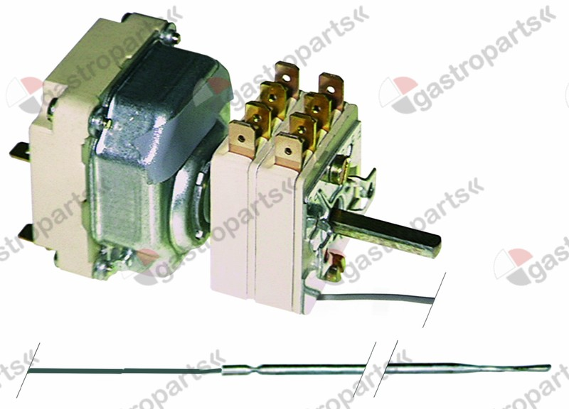 375.023, thermostat t.max. 180°C temperature range 103-175/108-180°C 3-pole 2NO/2NO