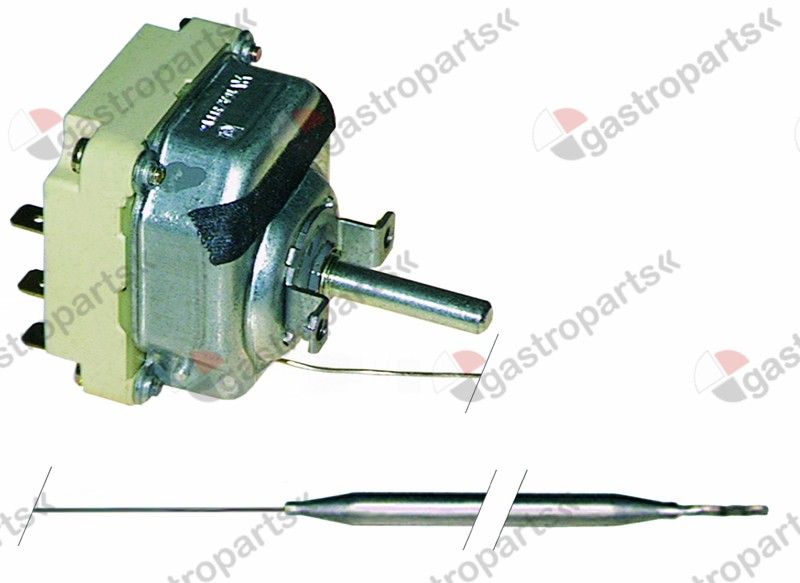 375.026, thermostat t.max. 350°C temperature range 100-350°C 3-pole 3NO 16A