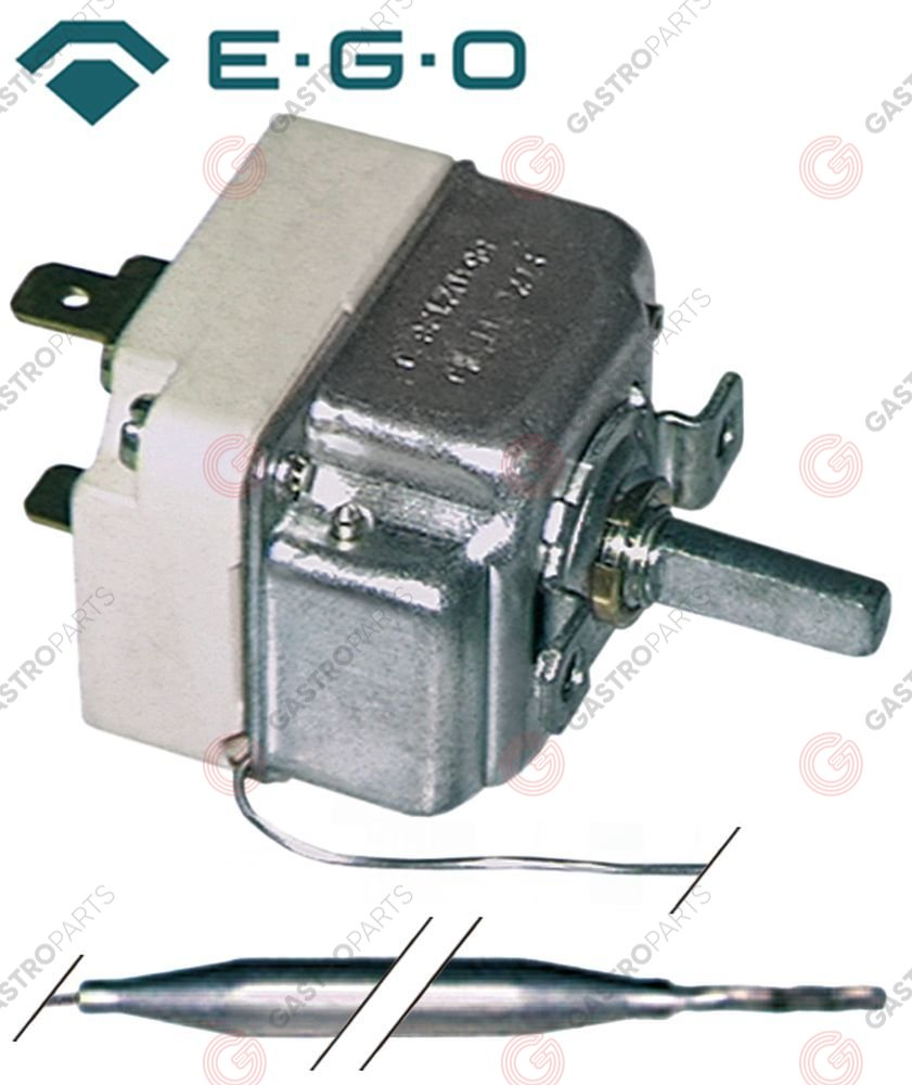 375.054, Replaced by 375055 / thermostat t.max. 110°C temperature range 30-110°C1-pole