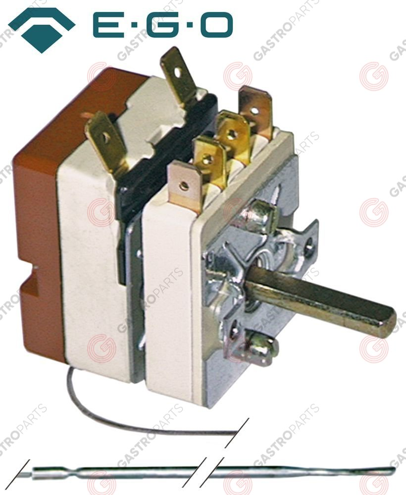 375.073, Replaced by 375408 / thermostat t.max. 320°C temperature range 50-320°C1-pole