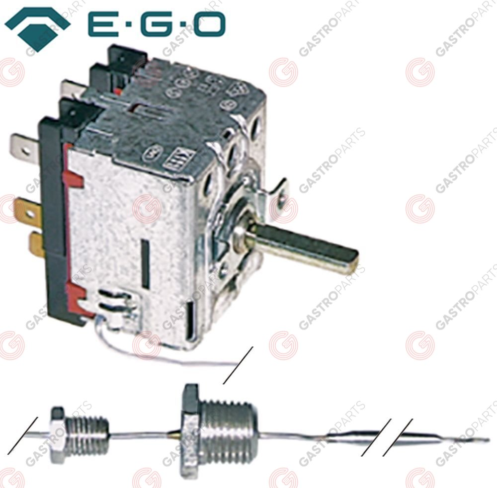 375.080, Thermostat t.max. 102°C temperature range 30-90 / 50-102°C 2-pole 2CO 16A