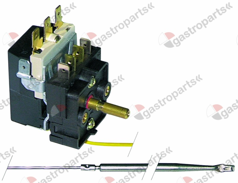 375.099, Replaced by 375409 / thermostat t.max. 400°Ctemperature range 100-400°C 1-pole
