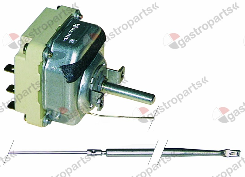 375.101, thermostat t.max. 360°C temperature range 140-360°C 3-pole 3NO 16A