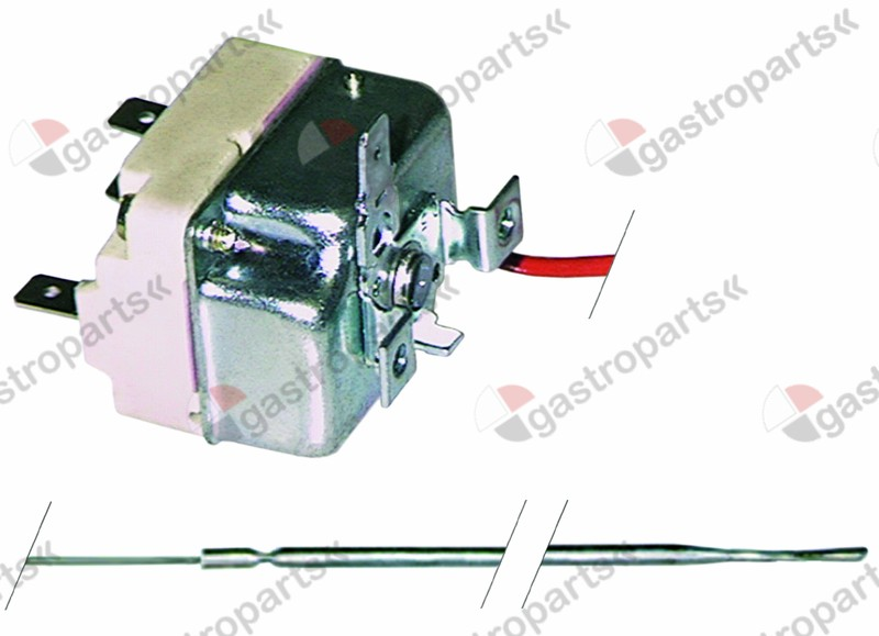375.113, thermostat t.max. 76°C temperature range fixed 76°C 1-pole 1CO 16A