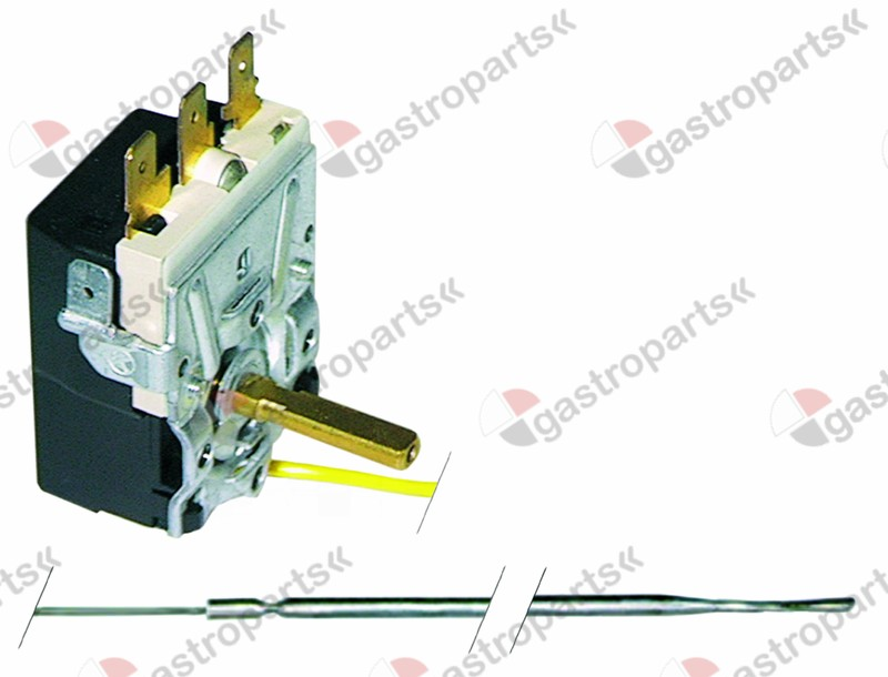 375.125, Replaced by 375402 / thermostat t.max. 320°C temperature range 50-320°C1-pole