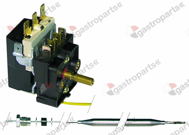 375.126, Replaced by 375405 / thermostat t.max. 90°C temperature range 30-90°C1-pole