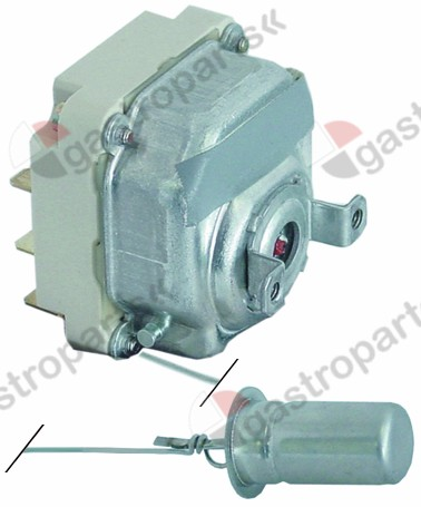 375.144, thermostat t.max. 52°C temperature range fixed 45/52°C 2-pole 2CO 16A