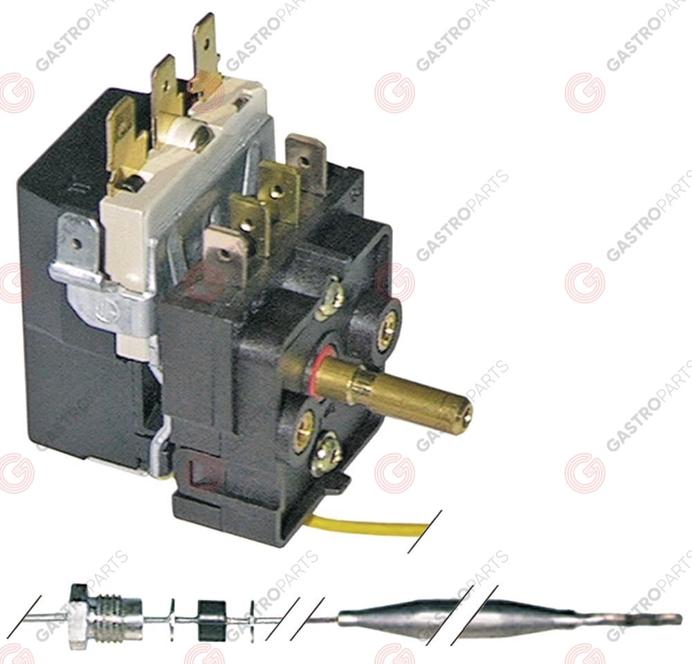 375.148, Replaced by 375407 / thermostat t.max. 185°C temperature range 90-185°C
