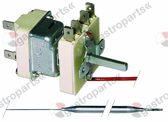375.158, Replaced by 375855 / thermostat t.max. 180°Ctemperature range 100-180°C 1-pole 1NO 16A