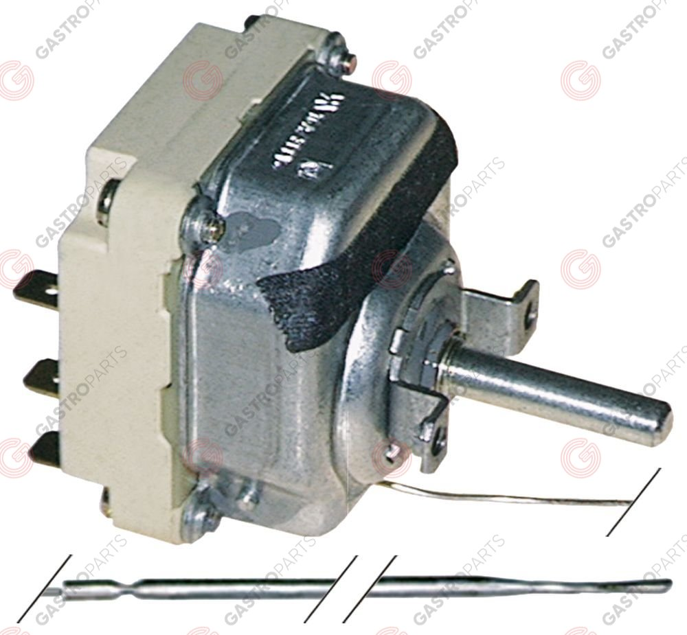 375.182, Replaced by 375412 / thermostat t.max. 320°C temperature range 50-320°C3-pole