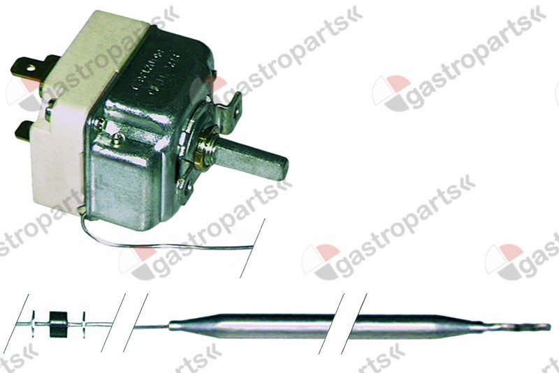 375.198, thermostat t.max. 192°C temperature range 100-190°C 1-pole 1NO 16A