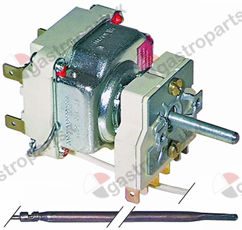 375.246, thermostat t.max. 645°C temperature range 100-615/645°C 2-pole 2NO 16A