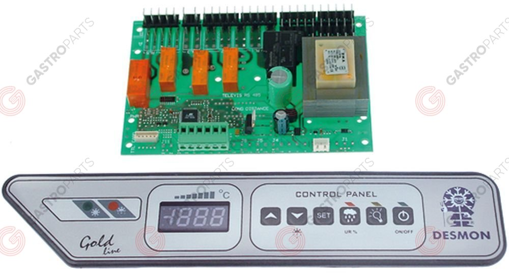 378.028, electronic controller kit DESMON type gold