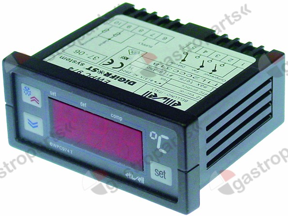 378.085, electronic controller ELIWELL type EWPC974 71x29m
