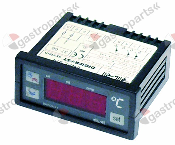 378.086, electronic controller ELIWELL type EWPC974 71x29m