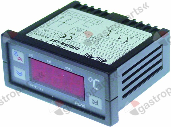 378.087, electronic controller ELIWELL type EWPC974 71x29m