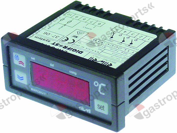 378.088, electronic controller ELIWELL type EWPC974 71x29m