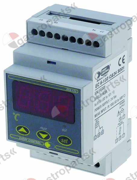 378.284, electronic controller EVERY CONTROL type EC6-133