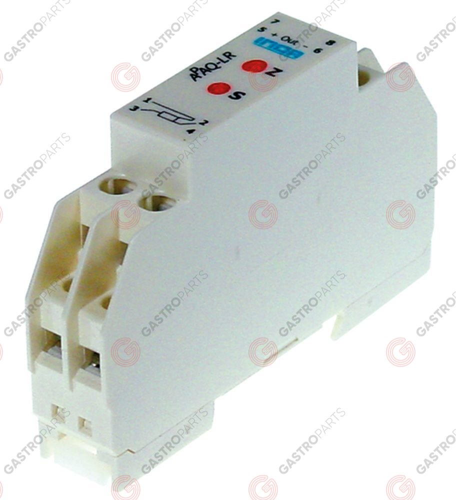 379.158, transmitter -50 up to +350°C inlet Pt100 outlet 4-20mA DIN rail