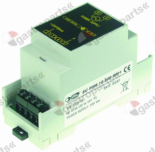 379.257, Replaced by 378114 / power supply type EC-PSM10 EVERY CONTROLsupply 230VAC supply 12VDC