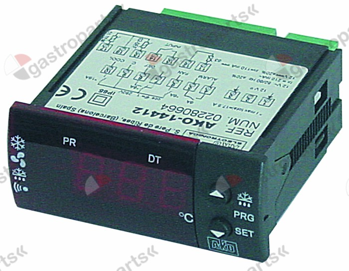 379.337, electronic controller AKO type 14412 71x29mm 12 V