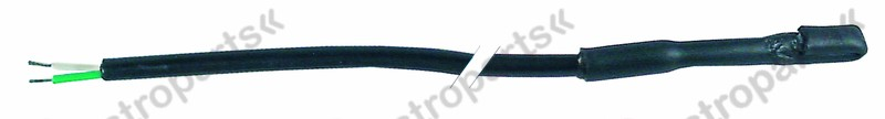 379.551, temperature probe NTC 2,2kOhm cable PVC probe -40 up to +110°C cable -10 up to 100°C