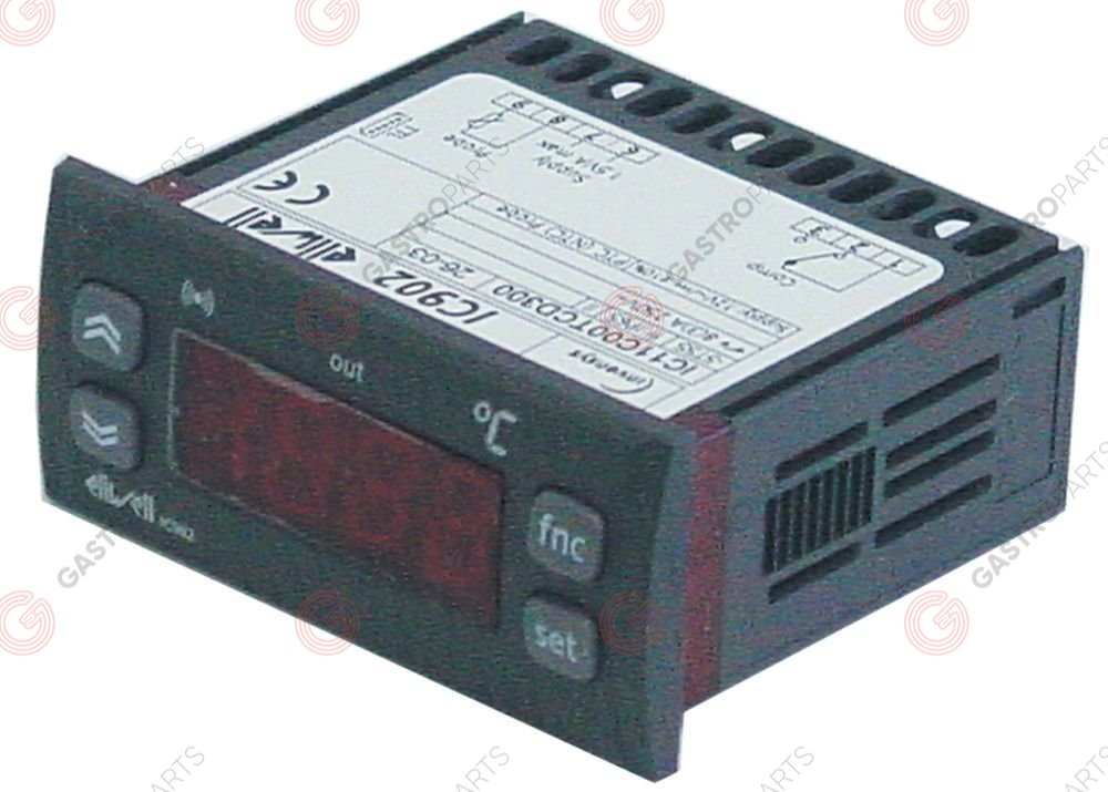 379.562, Replaced by 379689 / electronic controller ELIWELL type IC902mounting measurements 71x29mm 12V voltage AC/DC