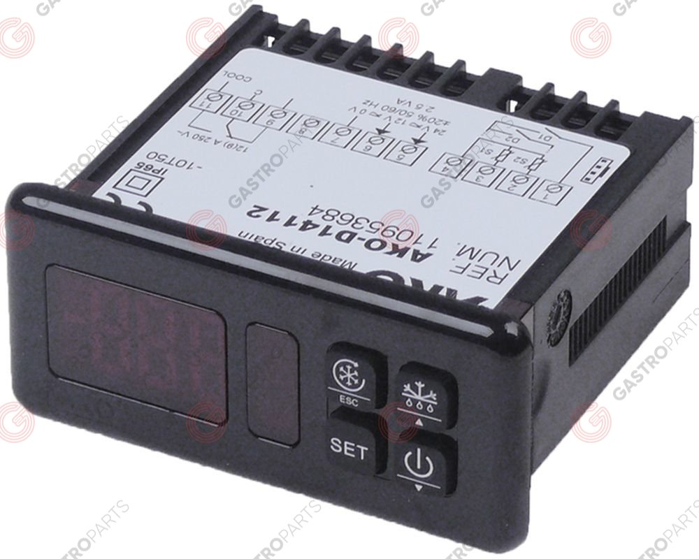 379.591, electronic controller AKO type AKO-D14112 mounting measurements 71x29mm 12/24V voltage AC/DC