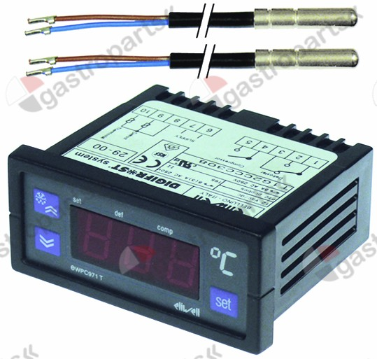 379.617, electronic controller ELIWELL type EWPC971 71x29m