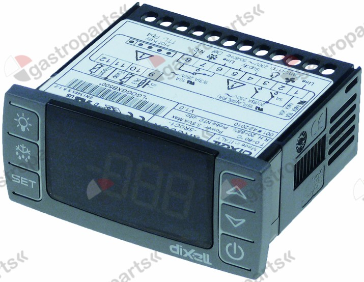 379.698, electronic controller DIXELL  mm 230 V AC NTC