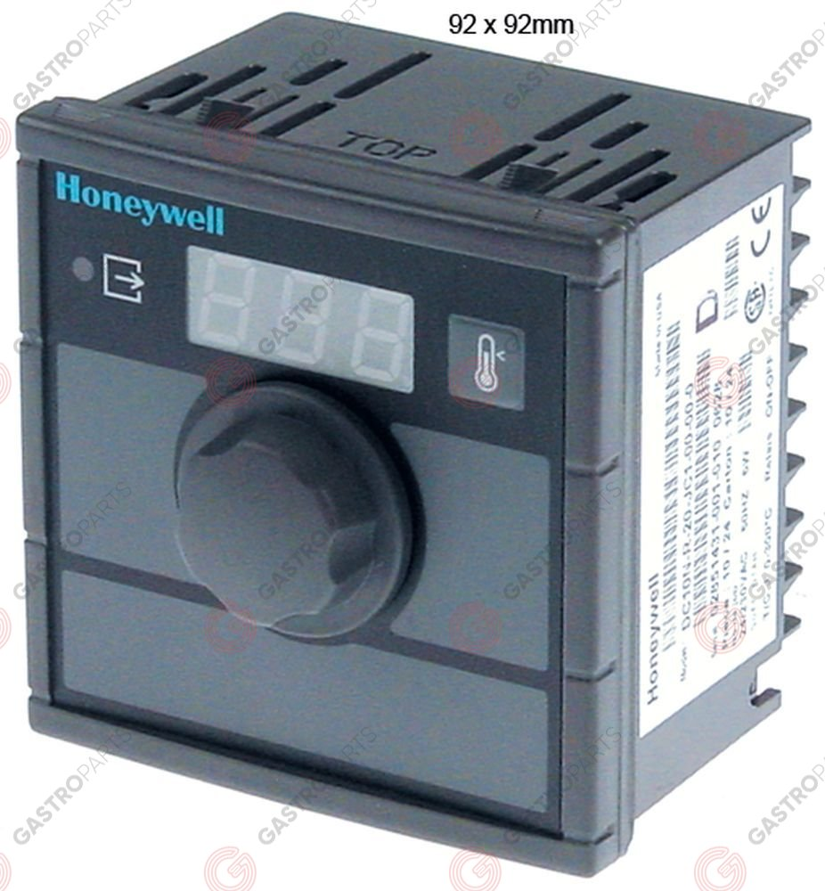 379.878, electronic controller HONEYWELL type DC10N-500 mounting measurements 92x92mm 24/230V voltage AC