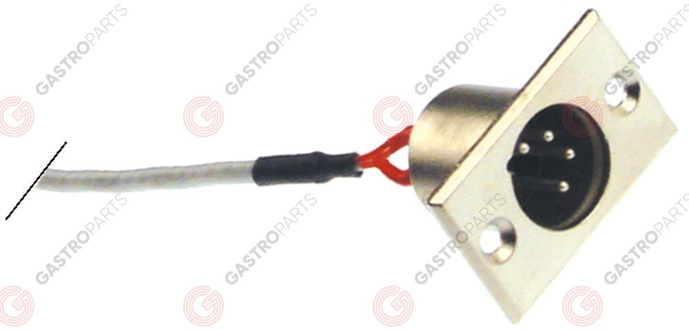 379.938, Female connector 4 -pole