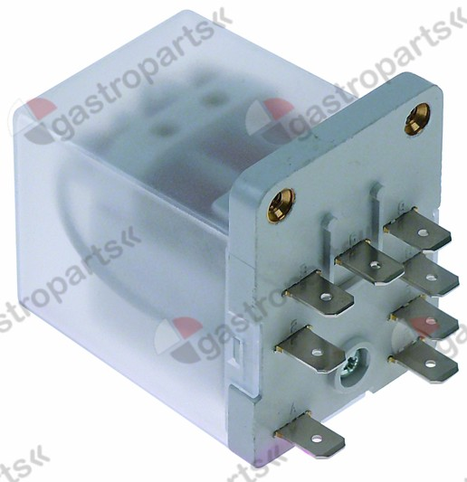 380.130, power relays Italiana Relè 230VAC 16A 3NO connection male faston 6.3mm screw mounting