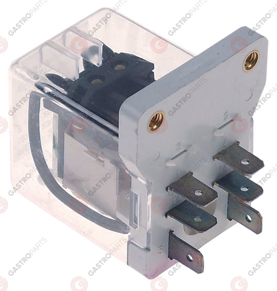 380.315, No longer available / power relays 230VAC 16A 2NO connection male fastonscrew mounting