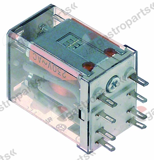 380.377, power relays FINDER 220-240VAC 10 A 2CO