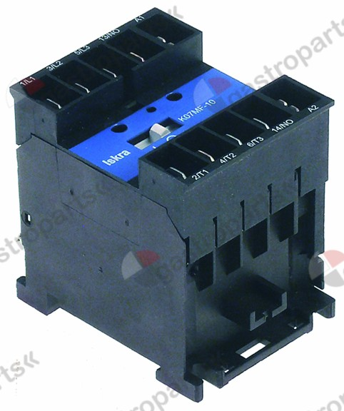 380.416, power contactor resistive load 16A 230VAC (AC3/400V) 8.5A/5.5kW main contacts 3NO