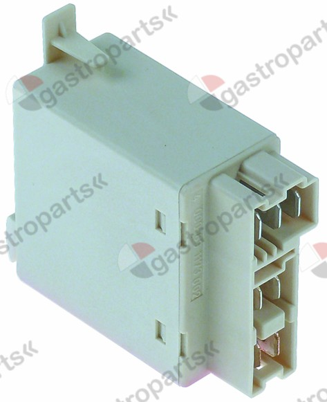 380.441, power relays  230VAC 16A 2NO connection coded plu