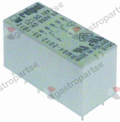 380.500, print relay 12 V voltage DC 2CO at 250V 8 A