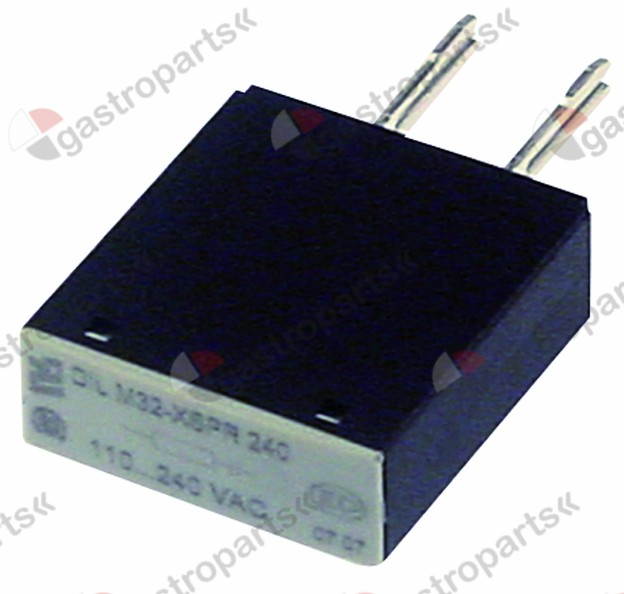 380.569, RC circuit rated voltage 110-240V