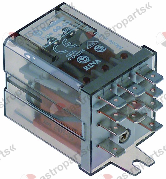 380.636, power relays FINDER 24VAC 10A 3CO