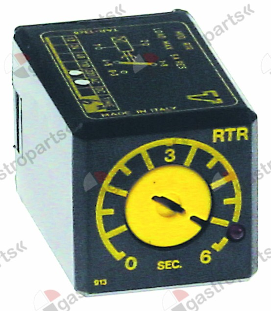 380.639, time relay TECNOLOGIC RTR12DS06S time domain 6s