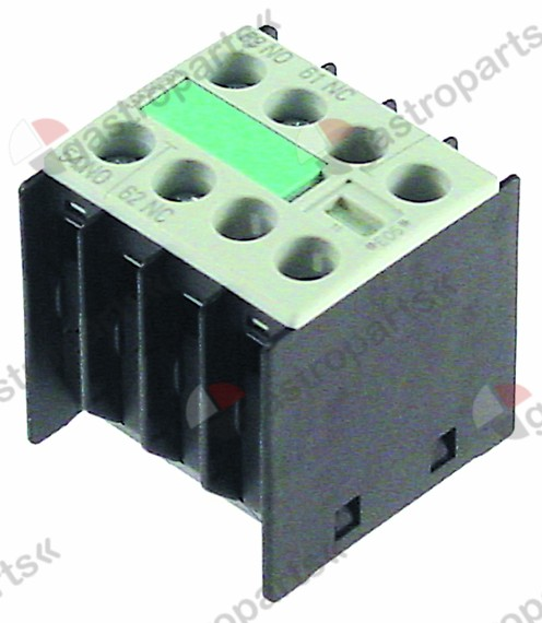 380.653, auxiliary contact contacts 1NO/1NC