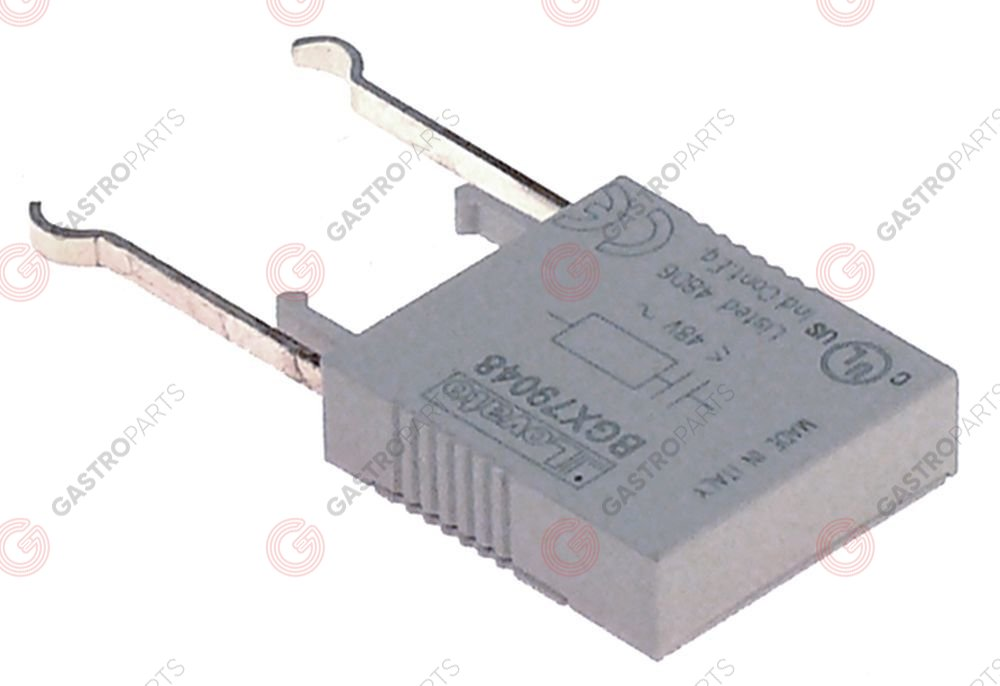 380.737, RC circuit suitable for series BG type 11BGX79048