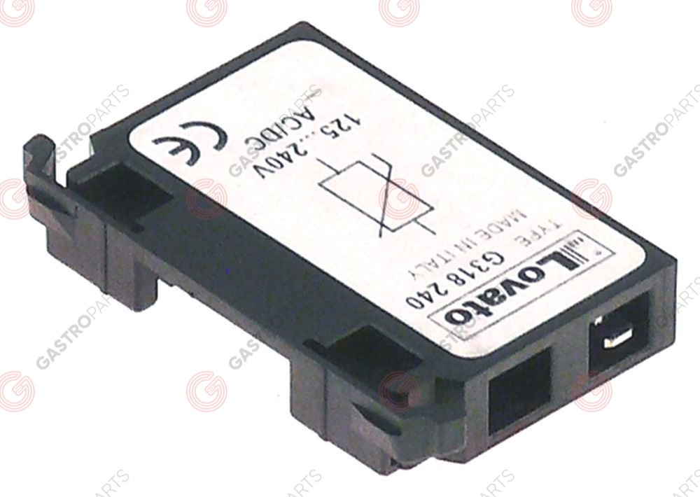 380.741, RC circuit suitable for series BF50 type 11G31824