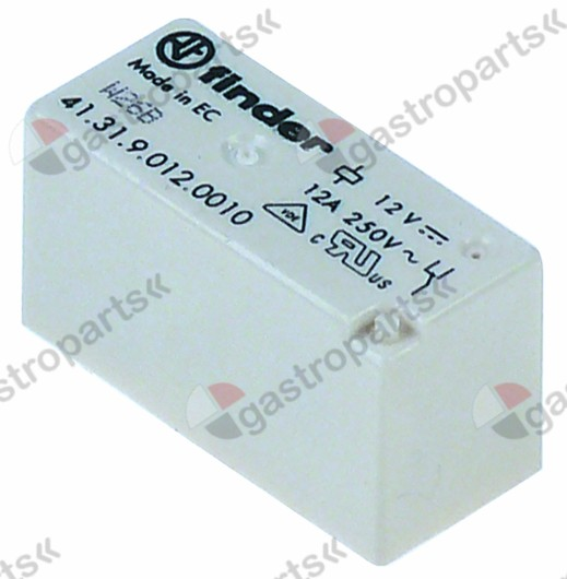 380.791, print relay 230 V voltage AC 1CO at 250V 12 A
