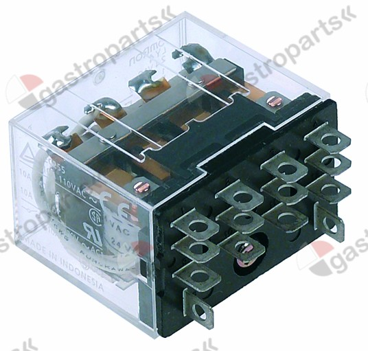 381.106, power relays 24VAC 10 A 4CO raster size 10 mm