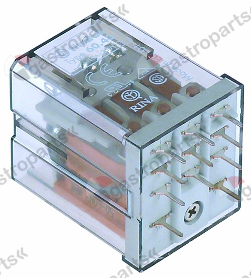 381.108, print relay 24 V voltage AC 3CO at 250V 10 A