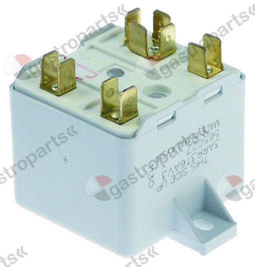 381.127, start relay GENERAL ELECTRIC 3ARR3 T6AV3 230V 1NC